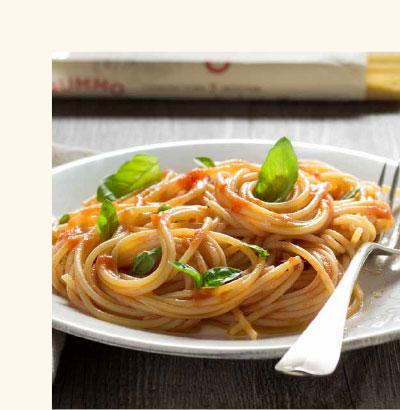 Ricetta al pomodoro e basilico
