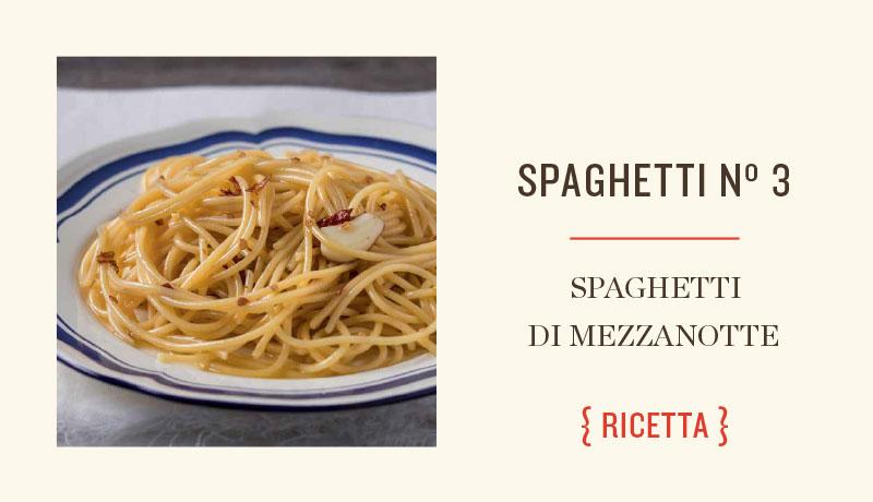 Ricetta spaghetti di mezzanotte