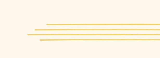 Spaghetti grossi particolare