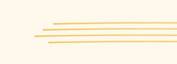 Spaghettoni grossi particolare