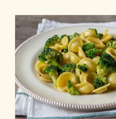 Ricetta con broccoli e acciughe