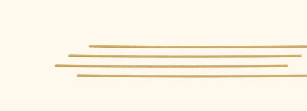 Spaghetti grossi integrali particolare