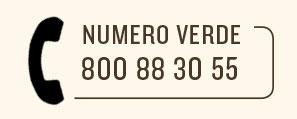 Numero verde 800 88 30 55