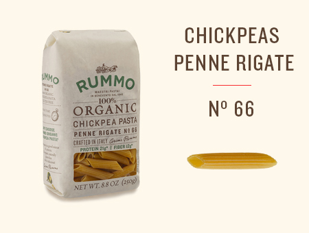 CHICKPEAS PENNE RIGATE