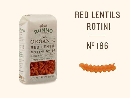 RED LENTILS ROTINI